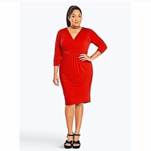 NWT Torrid Red Sexy Bodycon Dress in Size 2X